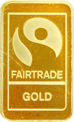 "Lingot 10g d'or fin - ""Fairtrade Gold"""