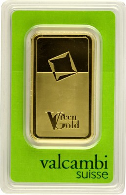 Lingot 100g d'or fin - Green Gold VALCAMBI