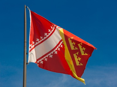 Flagge vom Elsass