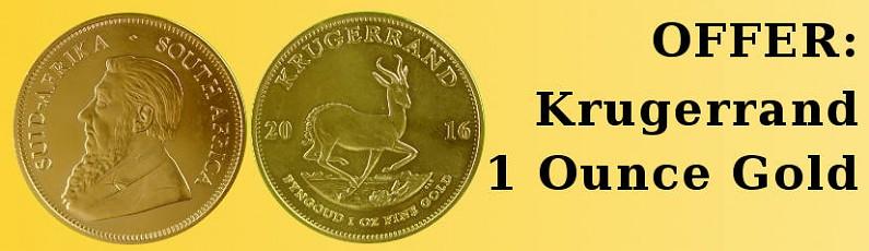 Offer Krugerrand 1 Ounce Gold