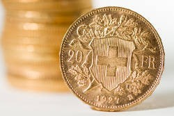 "20 CHF ""Vreneli"": The most popular gold coin in the southwest of Germany"