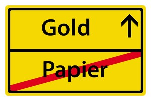 Gold protects savings: Leave the paper, invest in gold