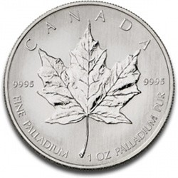 Maple Leaf 1 oz palladium