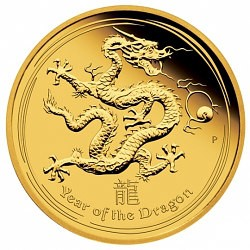 Lunar Series for collecting: Lunar II Dragon 1oz gold