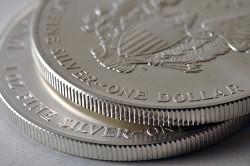 To buy silver coins in Freiburg