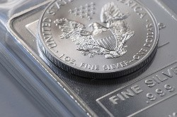 To buy silver coins and silver bars