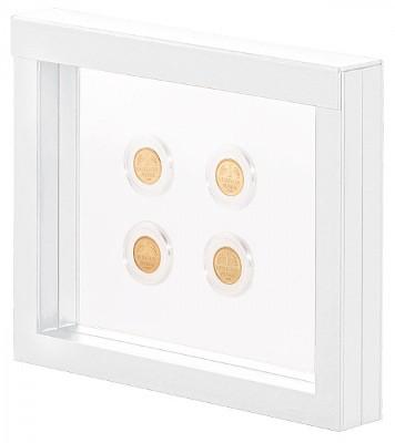 Nimbus cadre-présentoir blanc de Lindner