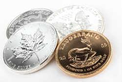 Achat de pièces et lingots d'or et d'argent