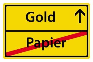 L'or protège des épargnes: Quitter le papier, investir dans l'or