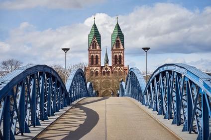 Freiburg Herz Jesu Kirche im Stühlinger