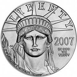 Platin Eagle 1 Unze