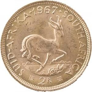 2 Rand Südafrika 7,32g Gold