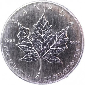Maple Leaf 1oz Palladium (regelbesteuert)