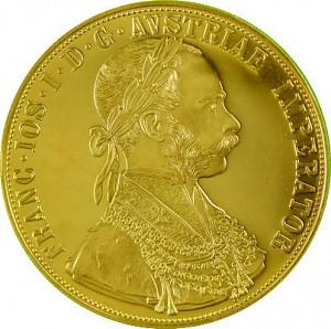 4 Dukaten Österreich 13,76g Gold