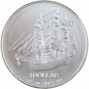 Cook Island 1oz Silber