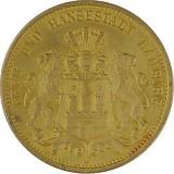 20 Mark Hamburg 7,16g Gold