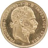 8 Florin Österreich 5,81g Gold
