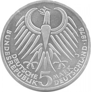 5 DM Commemorative Coins GDR 7g Silver (1953 - 1979)