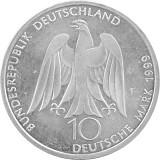 10 DM Gedenkmünzen BRD 14,34g Silber (1998 - 2001) - B-Ware