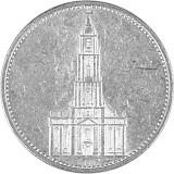 5 Reichsmark Garnisonskirche 12,5g Silber (1934 - 1939)