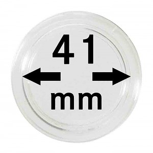 Coin Capsules 41mm, 1 Piece