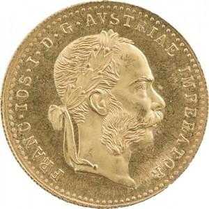 1 Dukaten Österreich 3,44g Gold