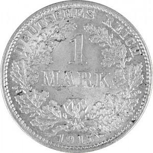 1 Mark Kaiserreich 5g Silber (1873 - 1915)