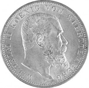 3 Mark German Empire 15g Silver (1908 - 1914)