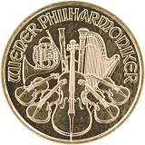 Wiener Philharmoniker 1/10oz Gold