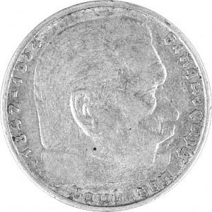 5 Reichsmark Hindenburg 12,5g Silber (1934 - 1939)