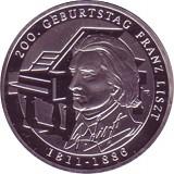 10 EUR Gedenkmünze Deutschland 10g Silber 2011