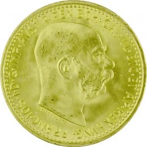 10 Kronen Österreich 3,04g Gold