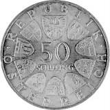 50 Schilling Österreich 18g Silber (1959 - 1973)