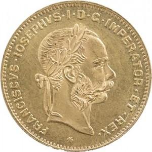 4 Florin Österreich 2,9g Gold