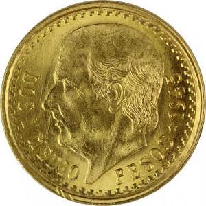 2,5 Pesos Mexico Hildago 1,87g Gold