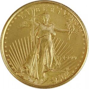 American Eagle 1/10oz d'or fin