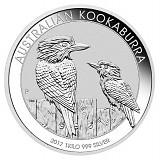 Kookaburra 1kg Silber - 2017