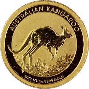 Känguru 1/10oz Gold - 2017