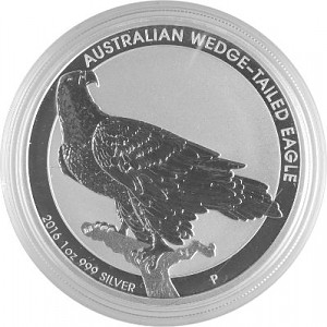 Australian Wedge Tailed Eagle 1oz Silver - 2016