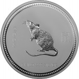 Lunar I Maus 1kg Silber - 2008