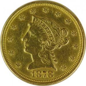 2,5 Dollar Quarter Eagle Liberty 3,76g Gold