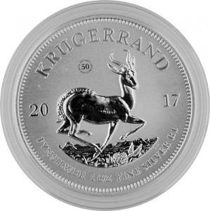 Krügerrand 1oz Silber - 2017