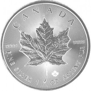 Maple Leaf 1oz Silber - 2017