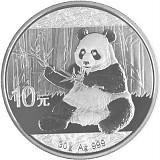 China Panda 30g Silber - 2017