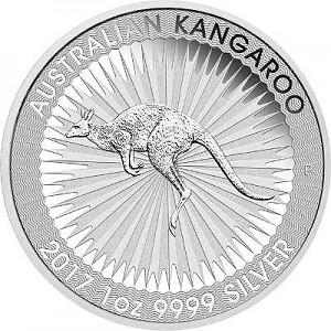 Australien Känguru 1oz Silber - 2017