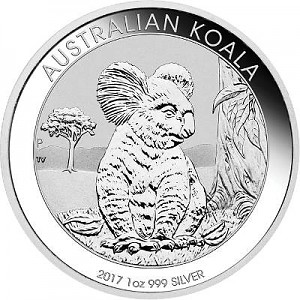 Koala 1oz Silber - 2017