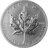 Maple Leaf 1oz Silber - B-Ware