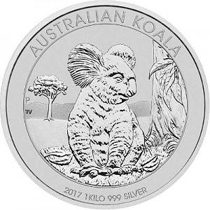 Koala 1kg Silber - 2017