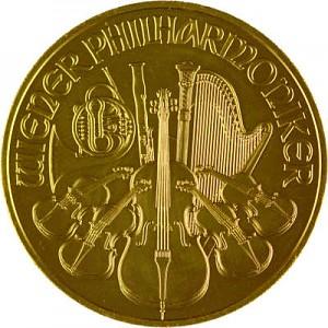 Wiener Philharmoniker 1oz Gold - 2017