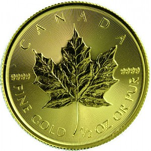 Maple Leaf 1/2oz Gold - 2017